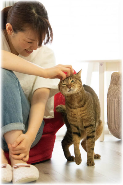 河合友紀子さま&みりんちゃん